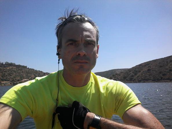 sur mon kayak au Maroc